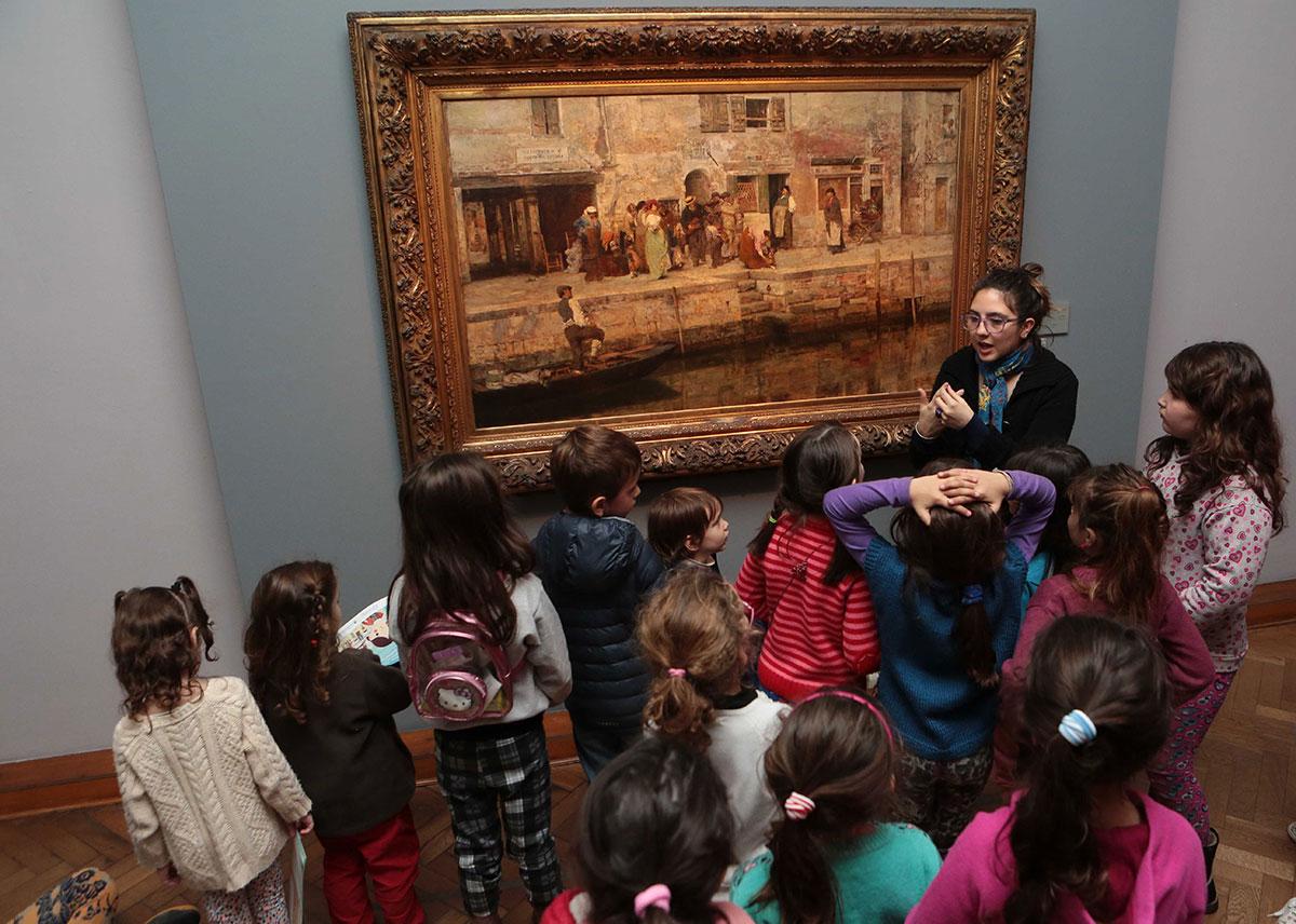 VACACIONES CON LOS CHICOS EN EL MUSEO DE BELLAS ARTES