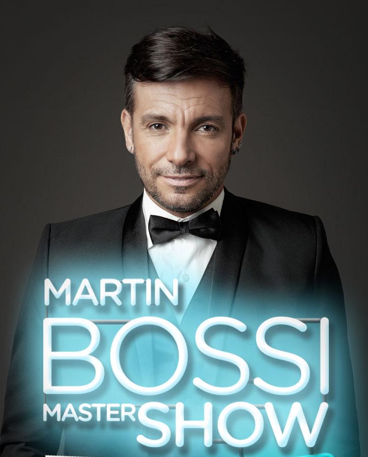 MARTÍN BOSSI MASTER SHOW…ÍCONOS 2018