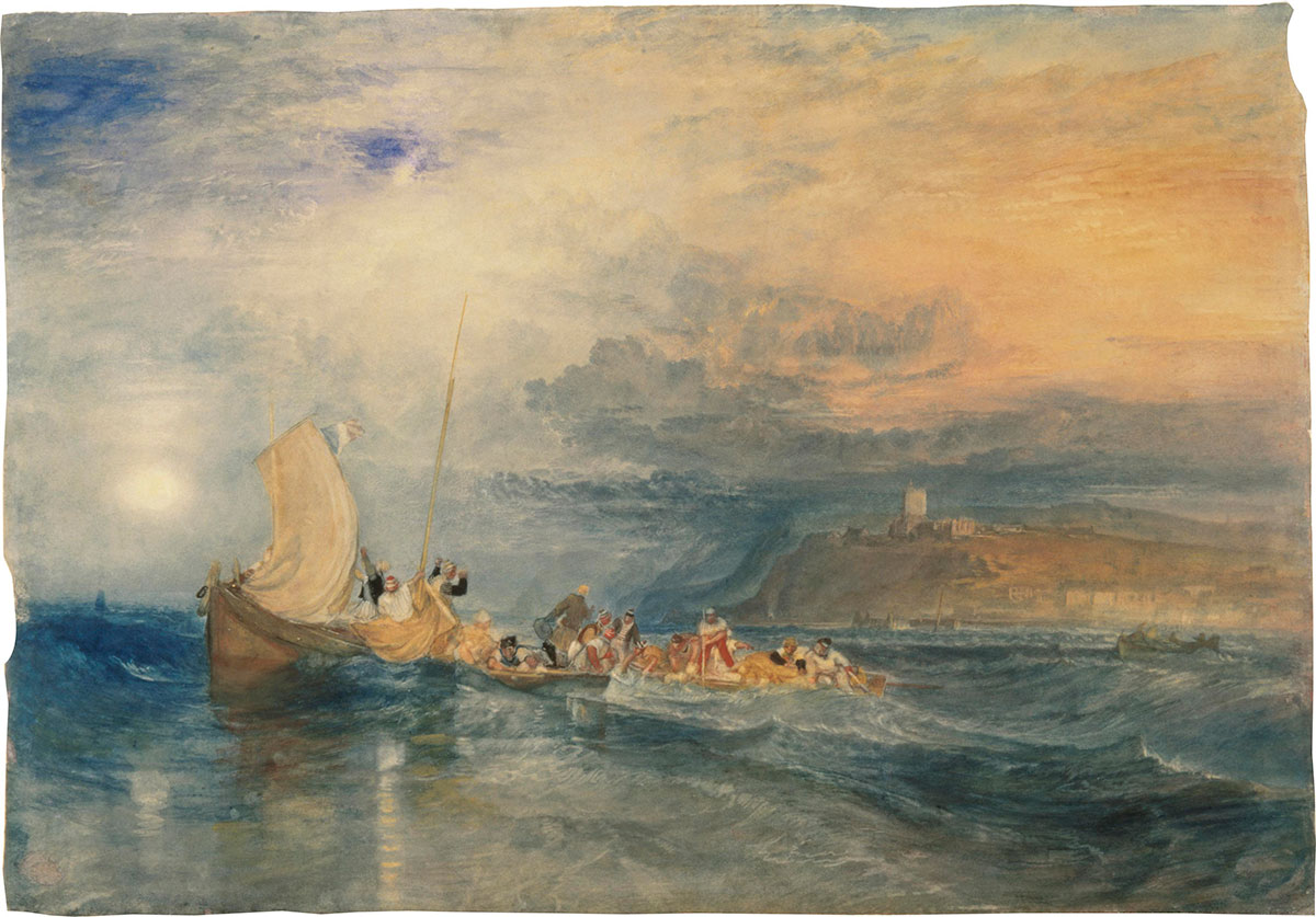 WILLIAM TURNER. ACUARELAS
