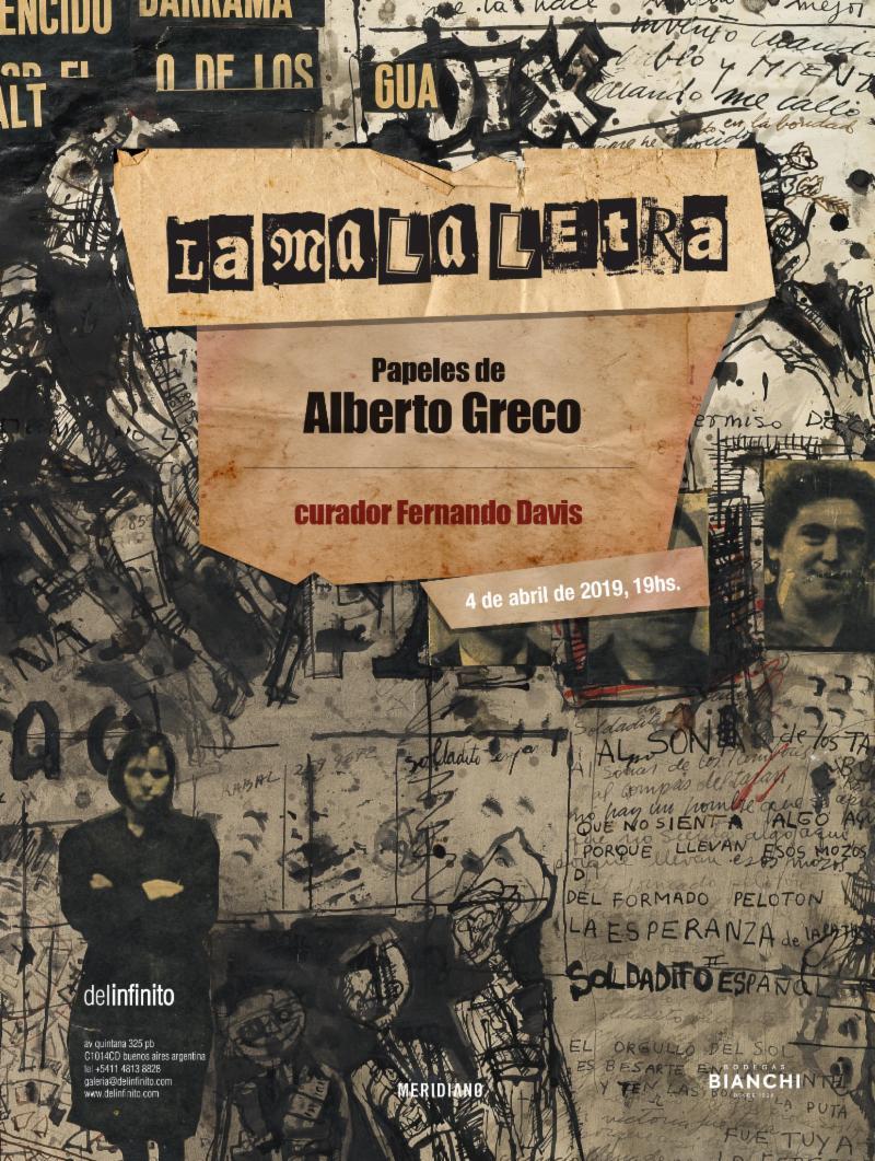 LA MALA LETRA. PAPELES DE ALBERTO GRECO